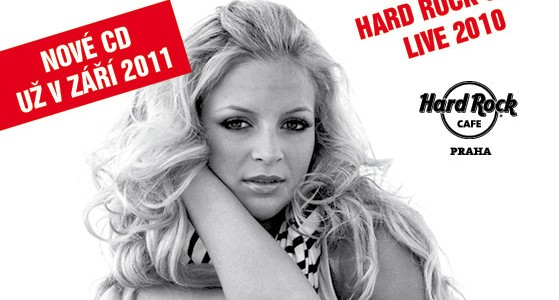 Markéta Konvičková a No Talking Band v Hard Rock Cafe Live 2010