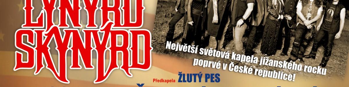 Lynyrd Skynyrd vystoupí poprvé v ČR