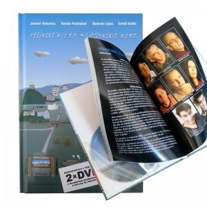 Kniha Těšínské niebo/ Cieszyńskie nebe vč. 2 ks DVD.