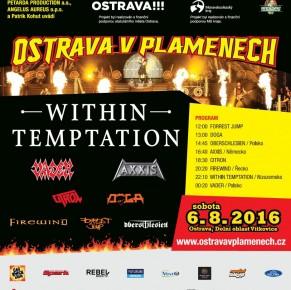 Ostrava v plamenech se vrací potřetí s headlinerem WITHIN TEMPTATION!