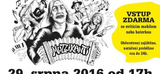 Zúčastněte se natáčení filmu Muzzikanti!