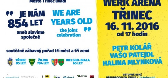 Je nám 854 let – aneb slavíme společně / We are 854 years old – the joint celebration