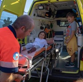 V Olomouci se děti vydaly na Bezpečnou cestu do školy